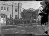 "National Guard ready to go to Taos to end ""rebellion"" in front of Armory, Washington..."
