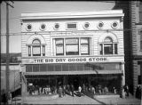 The Big Dry Goods Store, owned by Nathan Salmon, San Francisco Street, Santa Fe, New Mexico