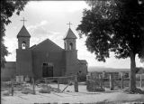 Church at Santa Cruz, New Mexico