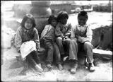 Children at Zuni Pueblo, New Mexico