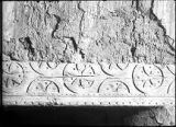 Carved beam in mission church, Zuni Pueblo, New Mexico