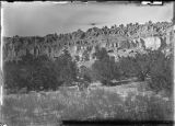 View of Puyé cliff, New Mexico