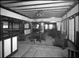 Interior of Elks Club on Lincoln Avenue, Santa Fe, New Mexico
