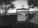 Church gateway, San Miguel, New Mexico