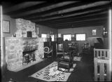 Interior of Sylvanus G. Morley residence, Santa Fe, New Mexico