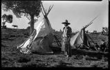 Jicarilla Apache camp, New Mexico