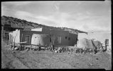 Adobe buildings, Trampas, New Mexico