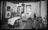 Interior view of Randall Davey home, Santa Fe, New Mexico