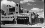 Cassell Building on Lincoln Avenue at Palace Avenue, Santa Fe, New Mexico