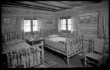 Cabin interior at Tent Rock Ranch, Pena Blanca, New Mexico