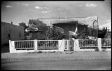 Colonel John S. Wyckoff residence on Hickox Street, Santa Fe, New Mexico