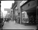 Staab and Galisteo Buildings at intersection of West San Francisco and Galisteo Street, Santa Fe,...