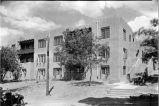 Main building at Bishop's Lodge, Santa Fe, New Mexico