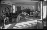 Interior of the Bronson Cutting residence in Santa Fe, New Mexico