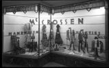 Display window at Moore's Mens Shop, Santa Fe, New Mexico