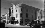 Lensic Theater, San Francisco Street, Santa Fe, New Mexico