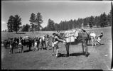 """A Tight Cinch is Required"", Los Alamos Ranch School, Los Alamos, New Mexico"