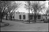 New Mexico Gas Company building, Marcy and Otero Streets, Santa Fe, New Mexico