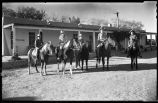 Horseback riding, Waring School, Pojoaque, New Mexico
