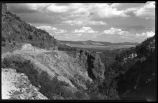 Canyon scene, New Mexico