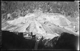 Construction of McClure or Granite Point Dam and Reservoir near Santa Fe, New Mexico, October 30,...
