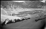 Construction of McClure or Granite Point Dam and Reservoir near Santa Fe, New Mexico,  November...