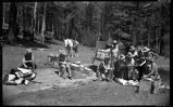"""Breaking Camp"", students from Los Alamos Ranch School, Los Alamos, New Mexico"