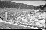 Construction of Nichols or Four-Mile Dam and Reservoir near Santa Fe, New Mexico