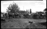 """Getting Packed fo the Trip"", Los Alamos Ranch School, Los Alamos, New Mexico"