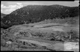Excavation for discharge conduit, Nichols or Four-Mile Dam and Reservoir near Santa Fe, New...