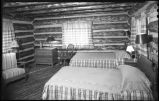 Bedroom of cabin, New Mexico