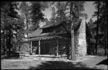 Unidentified mountain cabin, New Mexico