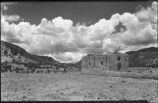 Adobe church ruins, New Mexico