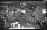Cabin interior, New Mexico