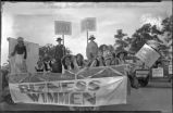 """Bizness Wimmen"" float, Fiesta, Santa Fe, New Mexico"