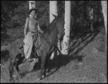 Horseback riding, Los Alamos Ranch School, Los Alamos, New Mexico