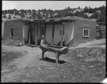 Unidentified adobe building, New Mexico