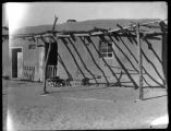 Adobe building, Cochiti Pueblo, New Mexico