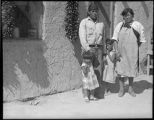 Young family, San Felipe Pueblo, New Mexico