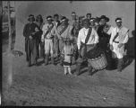Pumpkin Moiety chorus, Cochiti Pueblo, New Mexico