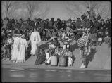 Dancers at Santa Fe Indian School, Santa Fe, New Mexico