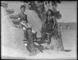 Corn dancers, San Ildefonso Pueblo, New Mexico