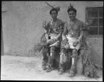 Two dancers from Jemez Pueblo, New Mexico