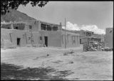 Adobe buildings, San Ildefonso Pueblo, New Mexico