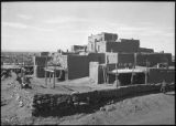 General view of Taos Pueblo, New Mexico
