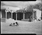 Adobe home, Trampas, New Mexico