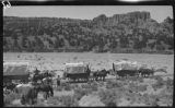 Wagon train, New Mexico