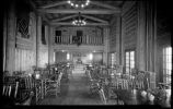 Dining room at Los Alamos Ranch School, Los Alamos, New Mexico