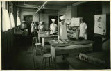 Students in cooking class, School for the Deaf, Santa Fe, New Mexico
