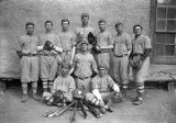 Baseball team, Saint Michael's School College, Santa Fe, New Mexico